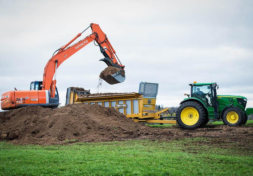 Ce sont près de 700 producteurs agricoles qui utilisent régulièrement ou ponctuellement les services de Viridis pour fertiliser et amender leurs sols avec des MRF de qualité!