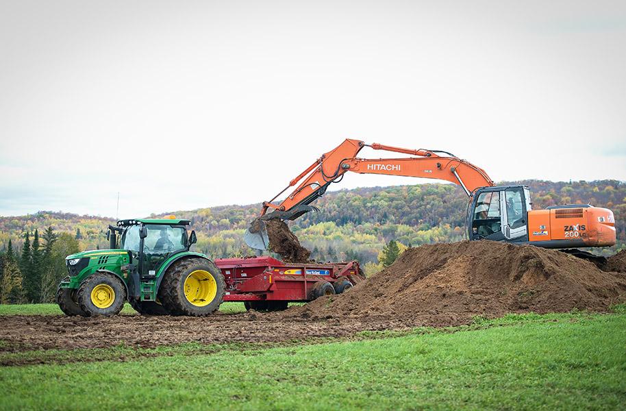 article de blogue sur les boues d'épuration réutilisées en agriculture