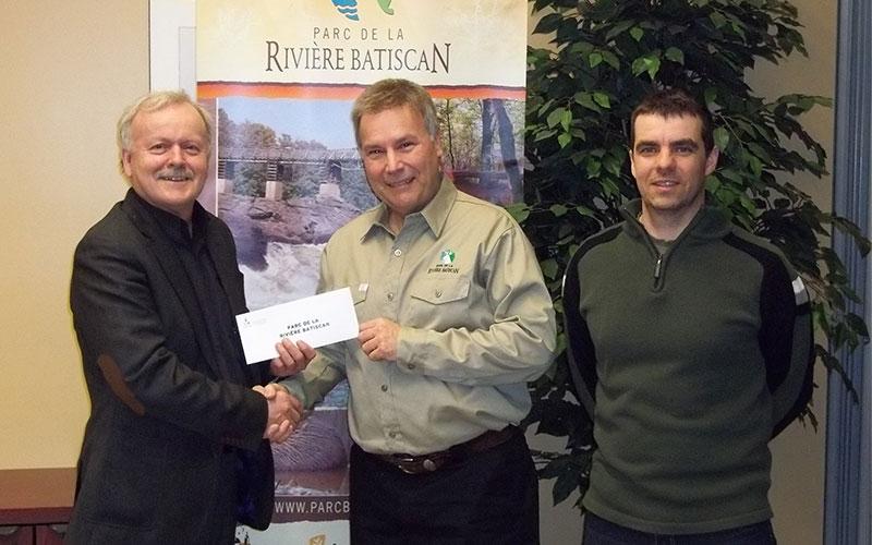 Le Fonds vert CMI appui l'amélioration de la gestion de l'eau et des matières résiduelles au Parc de la Rivière Batiscan