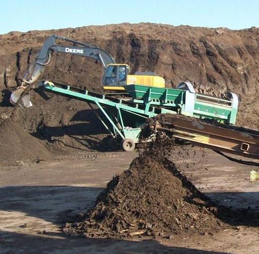 Fin des travaux de nettoyage du site de compostage Mauricie par Viridis