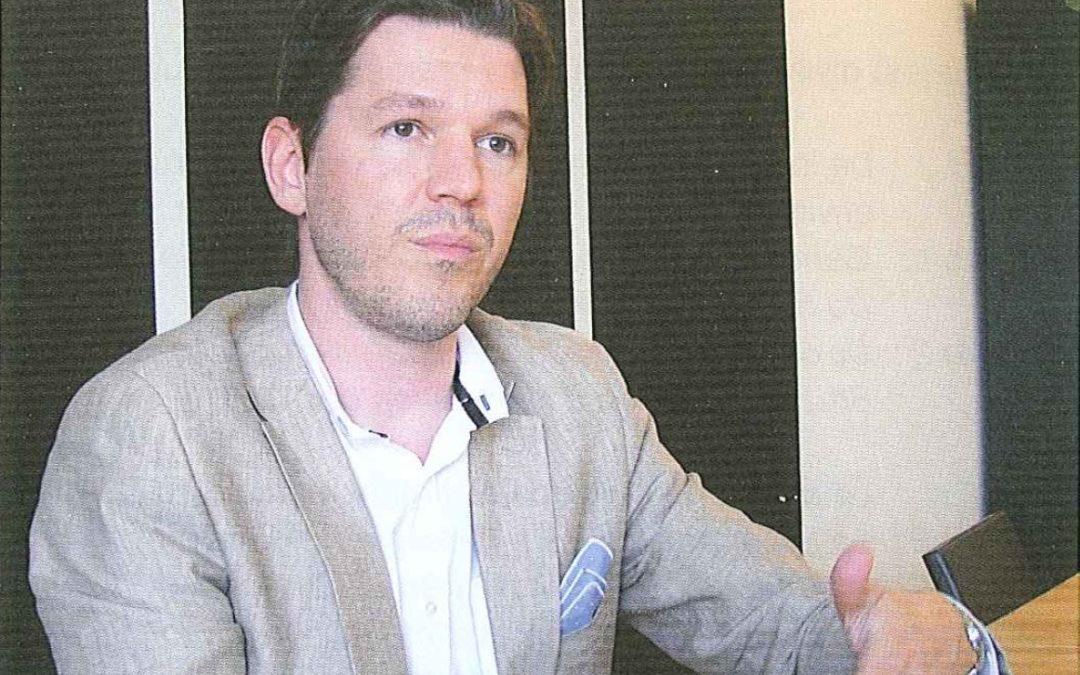 Simon Naylor, un agronome et entrepreneur spécialisé dans le recyclage des déchets organiques