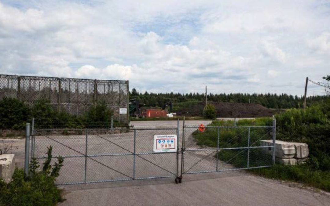 Compostage Mauricie site: soon to be forgotten!