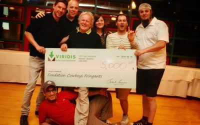 Viridis Environment Golf Tournament to benefit the Cowboys Fringants Foundation