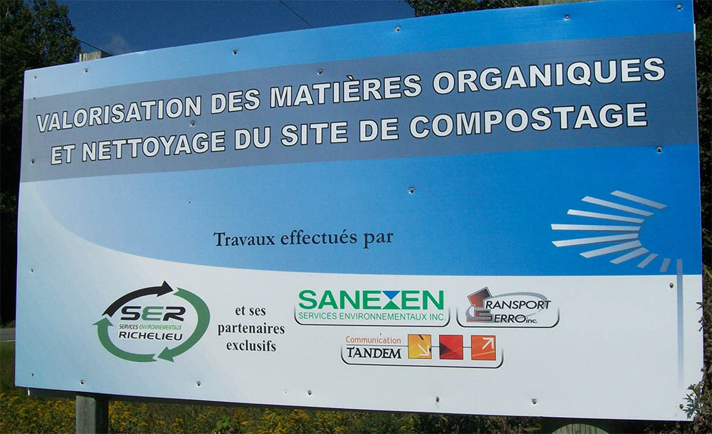 Compostage Mauricie –  Cleanup will be completed during the summer