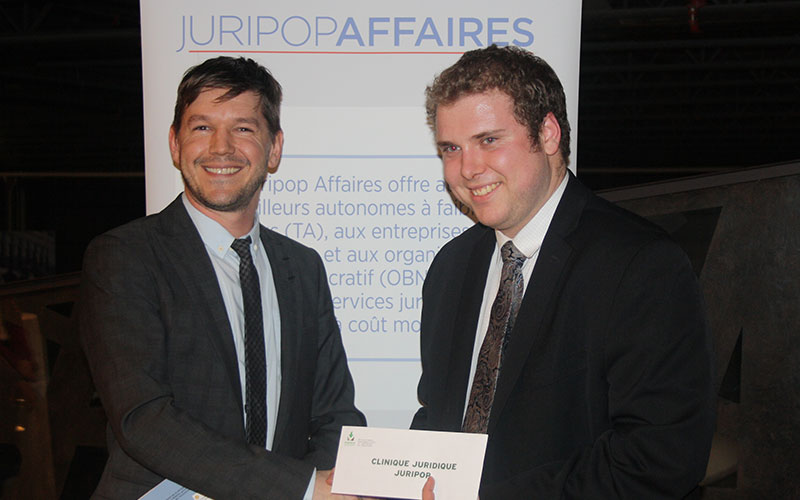 Financial support granted to the NPO Clinique Juridique Juripop